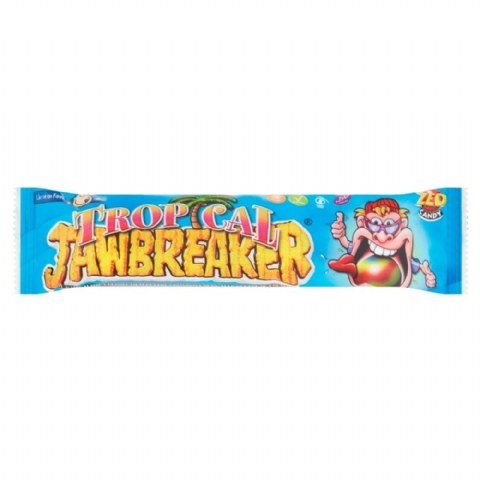 Tropical Jawbreaker 4 Pack Zed Candy Novelty Bubblegum Sweets